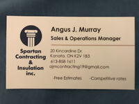 Spartan contracting & Insulation Services