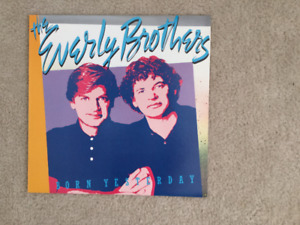 The Everly Brothers Born Yesterday 33 1/3 RPM vinyl LP