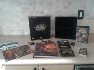 World of Warcraft cataclysm collectors edition COMPLETE!