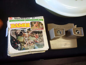 1970s Viewmaster with 15 Reel Sets from 1960s - 1970s Prince George British Columbia image 1
