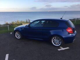 BMW 120d 1 Series Diesel M Sport 3 door Metallic Blue Huge Spec!