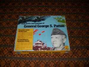 Major Battles and Compaigns of General George S. Patton Board