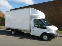CHEAPEST MAN WITH LUTON VAN HIRE £15ph, CALL FOR FREE QUOTE. SAME DAY, 24/7 DELIVERY RUBBISH WASTE