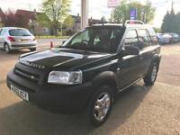 2002 - Land Rover Freelander 2.5 V6 auto ES - 12 Stamp - Service History-1Owner