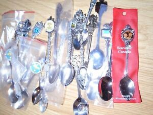 44 Silver Collector Spoons for sale