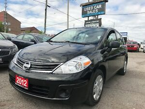 *LOW KMS*2012 Nissan Versa 1.8 *CERTIFIED