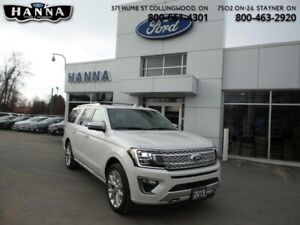 2019 Ford Expedition Platinum Max   3.5L Ecoboost V6