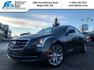 2018 Cadillac ATS Sedan Luxury AWD  NAV,AWD,LEATHER,SUNROOF