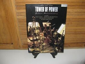 TOWER OF POWER SILVER ANNIVERSAY SHEET MUSIC BOOK