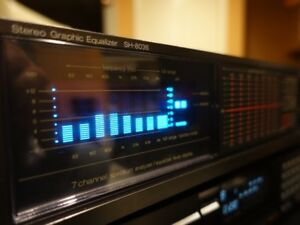 Technics SH-8036 Equalizer with Spectrum Analyzer