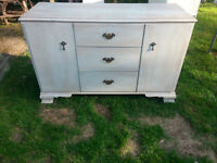 Solid Wood Buffet with lots of storage