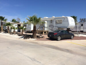 Lot And RV for Rent in Rancho Ventana in gated resort