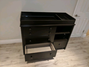 Daycare toys, tall cubbie and diaper change table