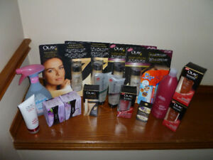 assorted olay / febreze/ pantene / tide products