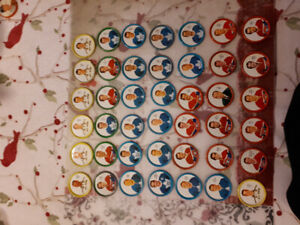 41 Shirriff Metal Hockey Coins 1962/63