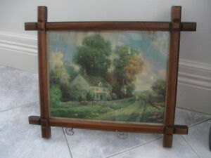 CHARMING OLD VINTAGE R. ATKINSON FOX SIGNED PARLOUR PRINT