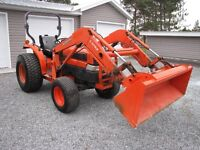 Kubota L-3130 4X4 loader low hrs bought new in 2009