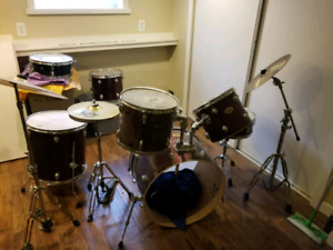 Pearl 10pc drum kit
