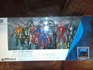 Justice League sealed box set Batman Superman Flash Aquaman