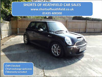 Mini Cooper S 1.6 (Chili) AUTOMATIC/AUTO - Leather - 3 Dr Hatchback - 2005