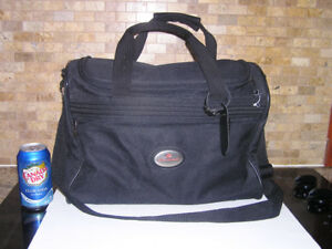Air Canada Black Carry-on Travel Overnight Bag Like New