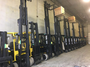 LEASE,RENT OR PURCHASE ELECTRIC OR LPG FORKLIFTS