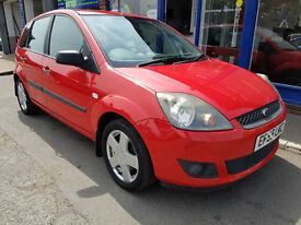 2006 FORD FIESTA 1.4 ZETEC CLIMATE 5 DOOR MANUAL 97K MOT JUNE 2018