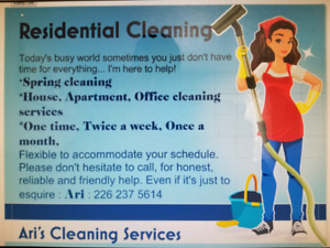 house cleaning advertising
