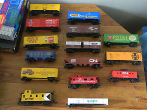 VINTAGE BOXED MODEL TRAINS -MINT COLLECITION