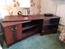FREE!!! Extending or corner tv table / cupboard base