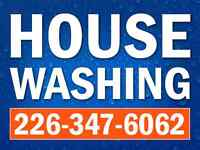 House washing Window cleaning