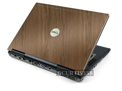 WOOD Vinyl Lid Skin Cover Decal fits Dell Latitude D620 D630 Laptop Dell Latitude D630 Skin