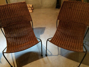 Pier 1 chairs.