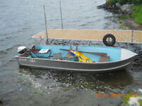 Boat, Motor with Trailer for sale