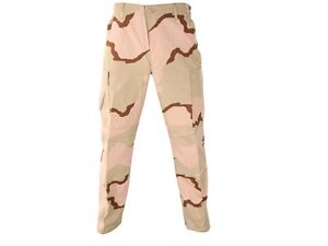 New DCU Pants Trousers Large Reg Desert Camo USGI Army Military Ripstop