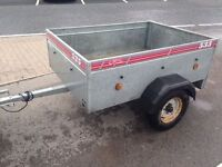 Caddy 535 Galvanised Camping Trailer with Cover