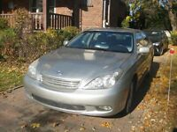 2003 Lexus ES Sedan, Excellent Condition Fully Equipped, 153K KM