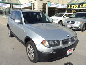 2006 BMW X3 2.5i/Clean carproof/Certified SUV, Crossover