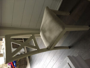 4 FREE chairs- need to be painted and reupholstered