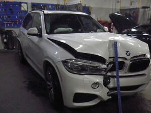 Damaged 2014 BMW X5 M sport SUV
