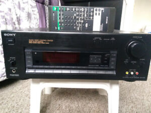 Vintage Sony stereo receiver 5.1 120w per channel.
