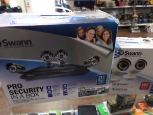 ksq buy&sell SWANN PRO SECURITY CAMERAS (6 ) for sale