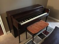 FREE PIANO!!! MUST TAKE OUT OF THE HOUSE ON YOUR OWN!!!