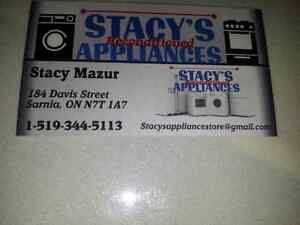Used appliance like fridge stove washer dryers and more