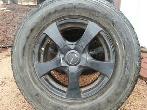 Rims from Jeep Liberty