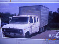 ford 1 ton cube van make me a offer