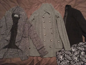 Clothing Lot, dresses, skirts, tank tops, sweaters