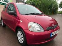 2003 Toyota Yaris 1.0 VVT-i Colour Collection 3dr