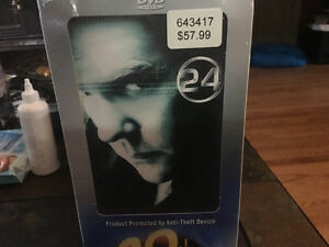 DVD not opened, 24 hour series collection