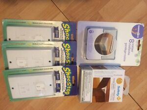 Safety 1st baby package: outlet covers, corner protectors